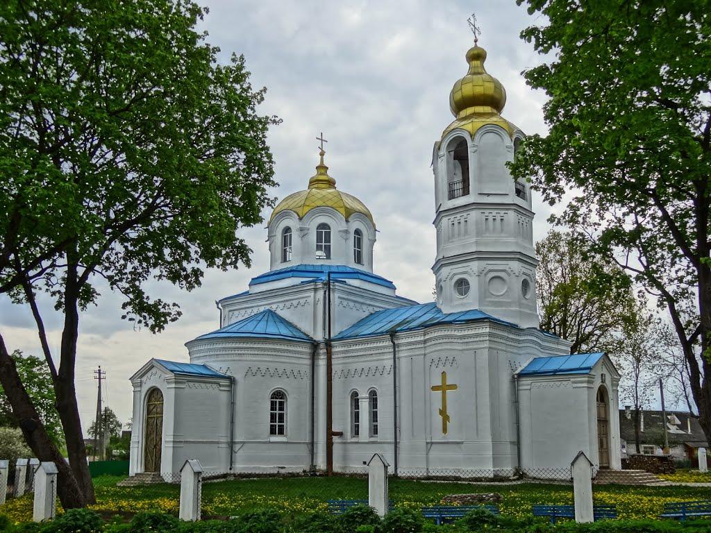 orthodox church in Dzisna / carkva ŭ Dziśnie (1864—1870), Дисна