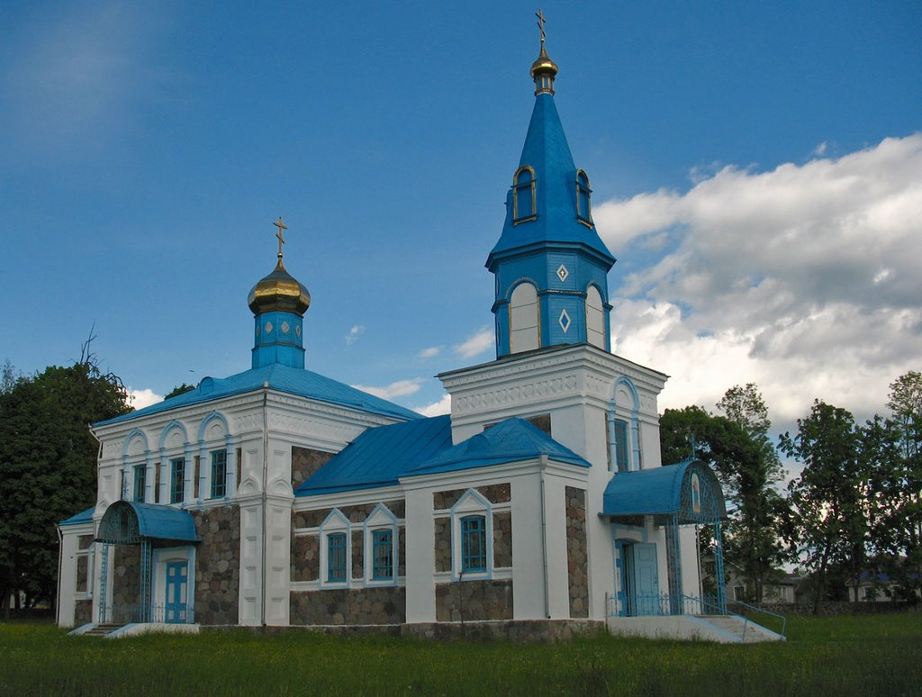 Church of the Protection of the Holy Virgin in Dokšycy, Докшицы