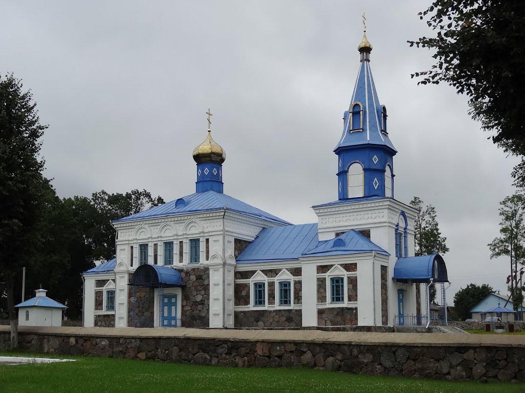 Intercession orthodox church / Śviata-Pakroŭskaja carkva (1901-1903), Докшицы