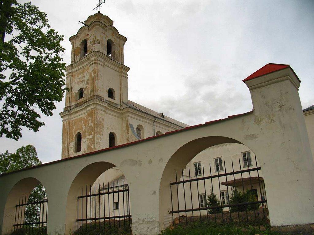 Church of the Holy Trinity and the Monastery of Bernardine in Druja, Друя
