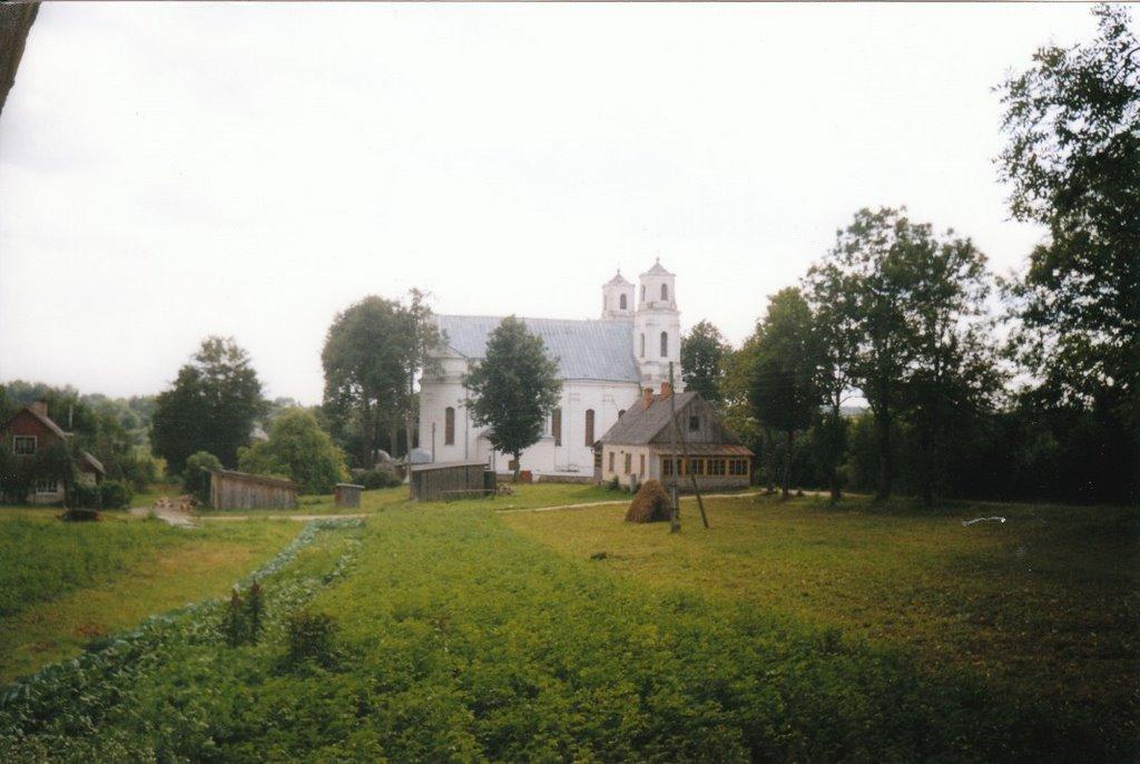 Piedrujas katoļu baznīca 1999, Друя