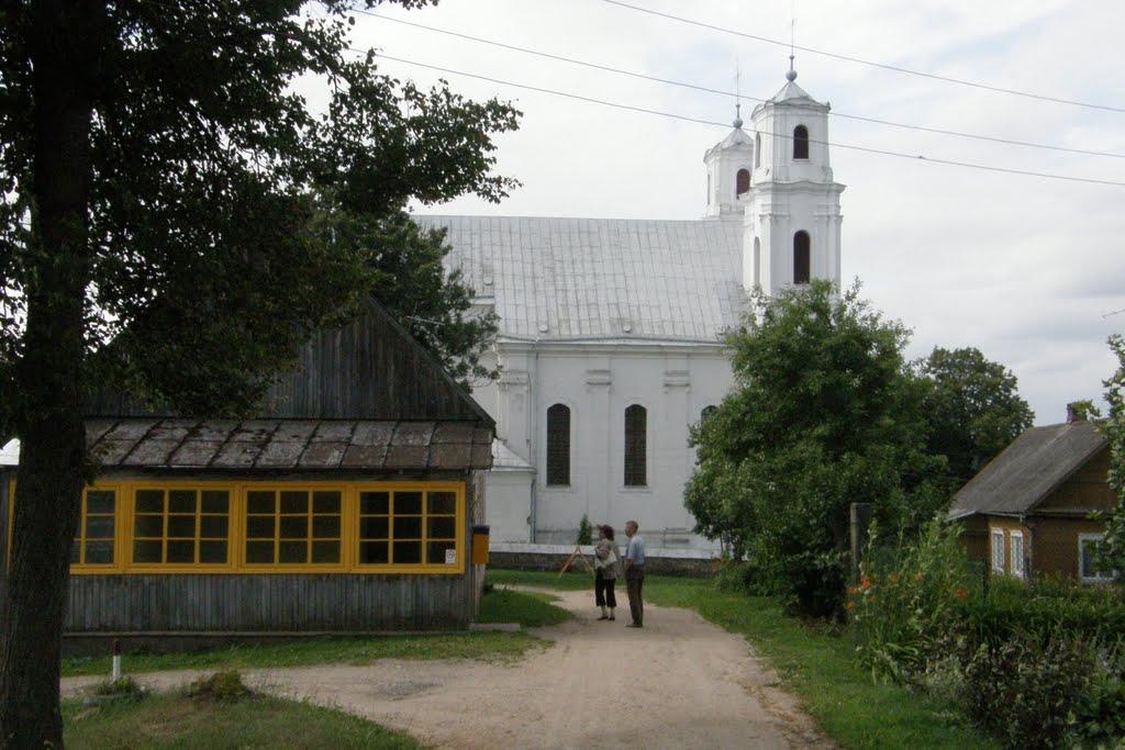 Piedruja church, Друя