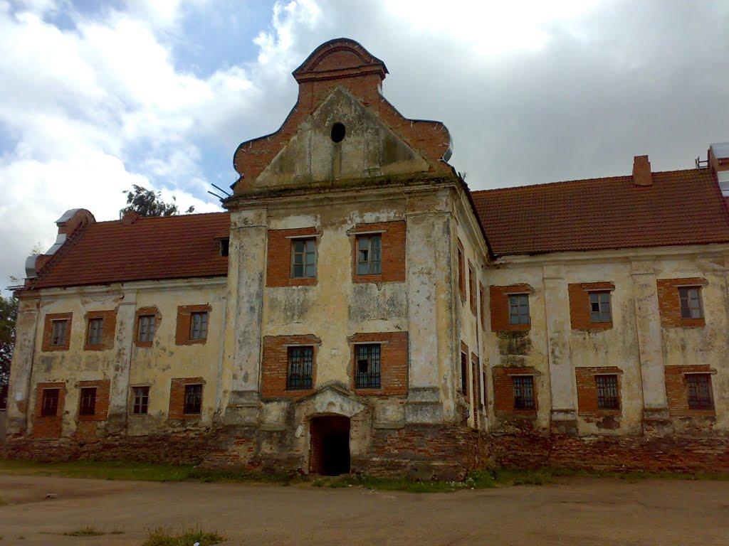 Жилой корпус монастыря бернардинцев, 1809 г., Дубровно