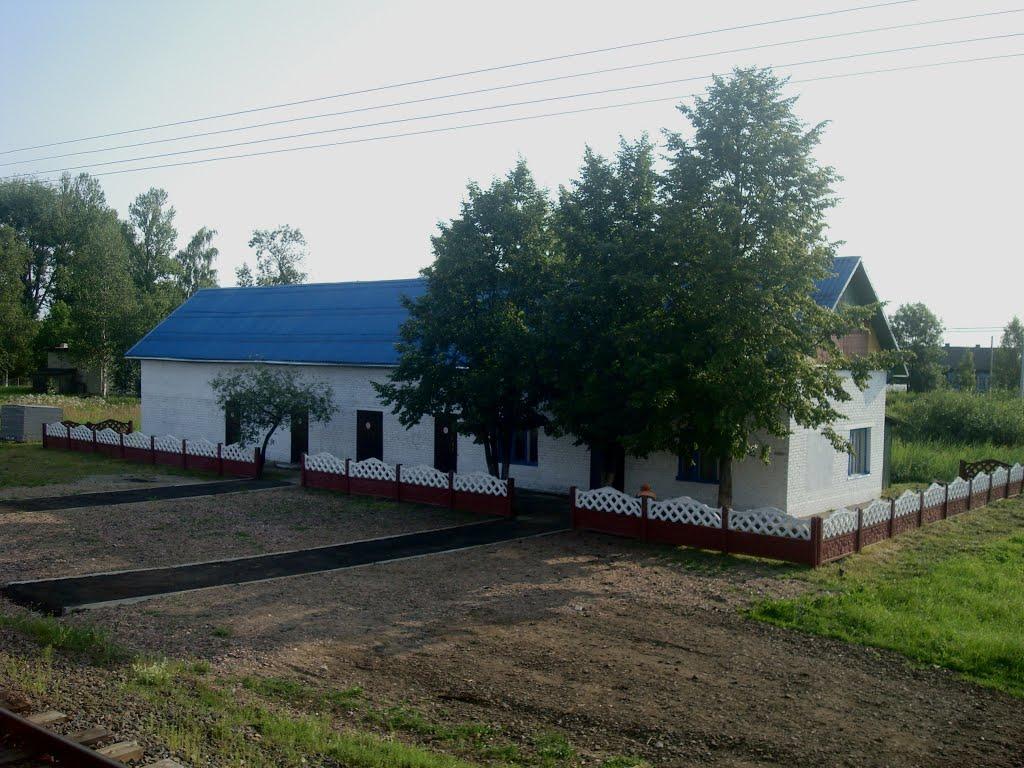 Станция Езерище, Езерище
