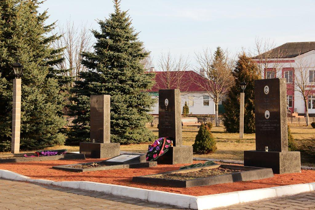 Памятник героям ВОВ, Лепель