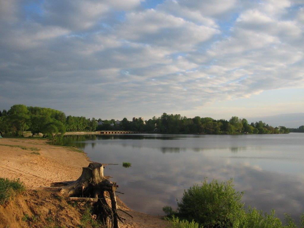Лепельский пляж, Лепель