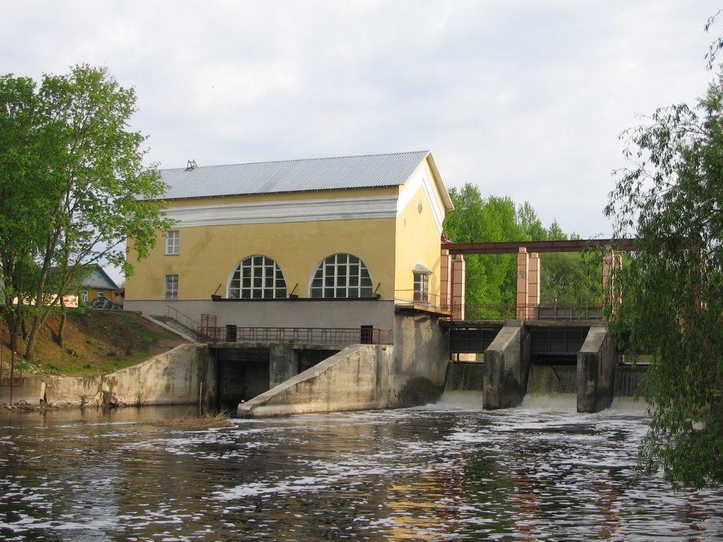 Лепельская ГЭС, Лепель