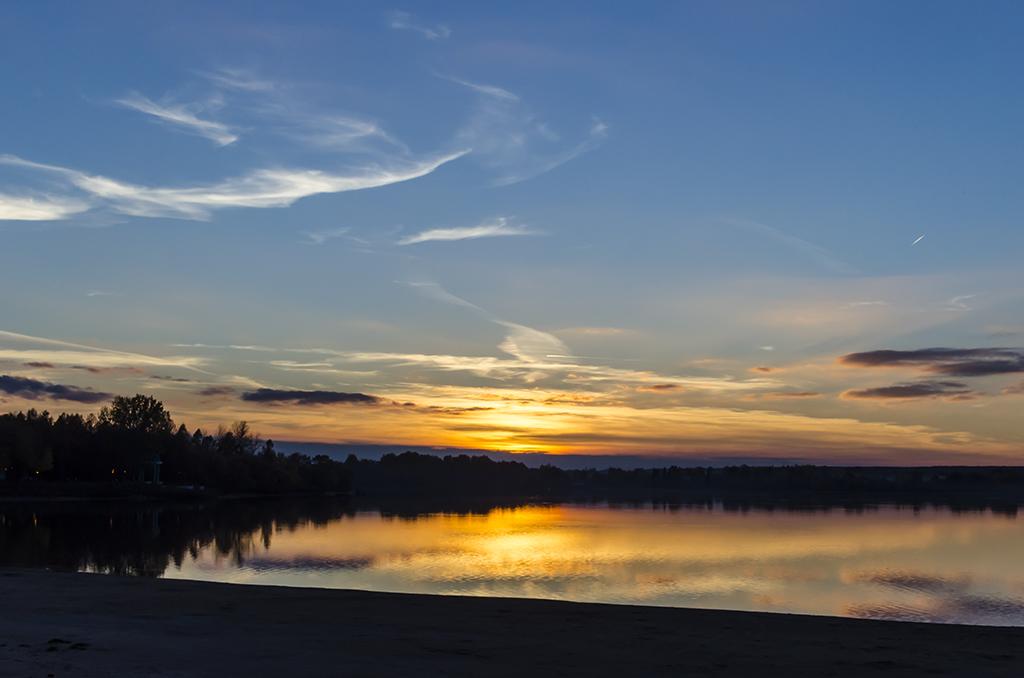 закат на Лепельском озере, Лепель