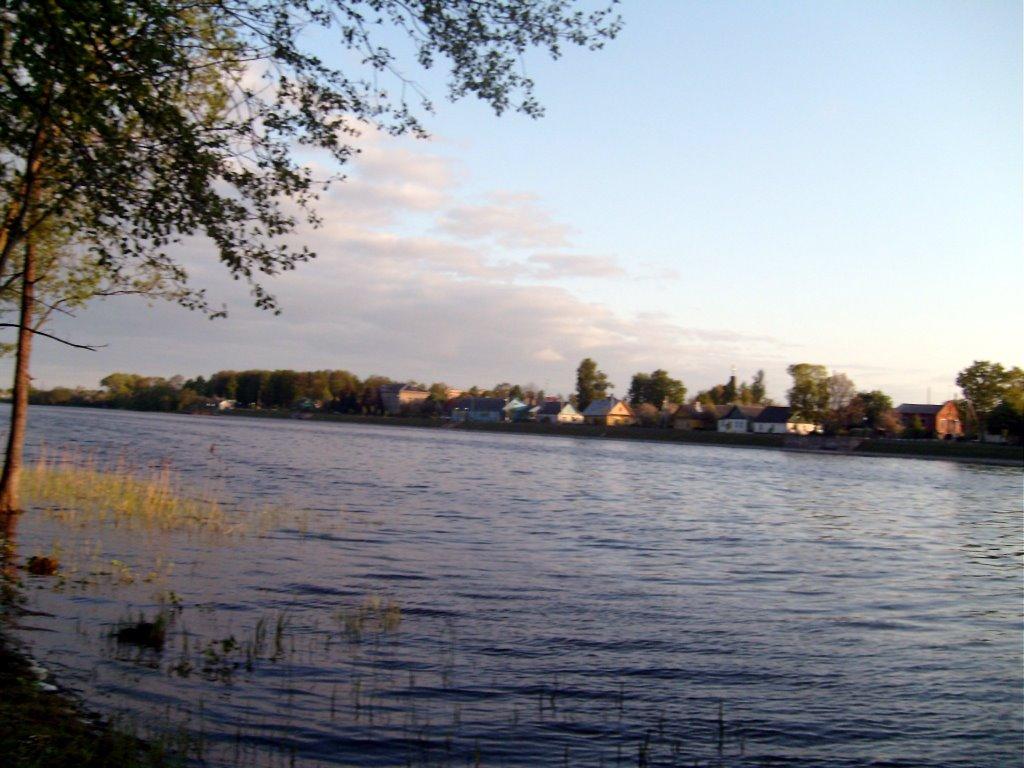 Miory along lake, Миоры