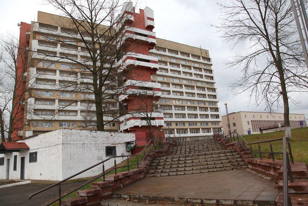 """Общежитие ПГУ (""""Бастилия""""), Новополоцк"""