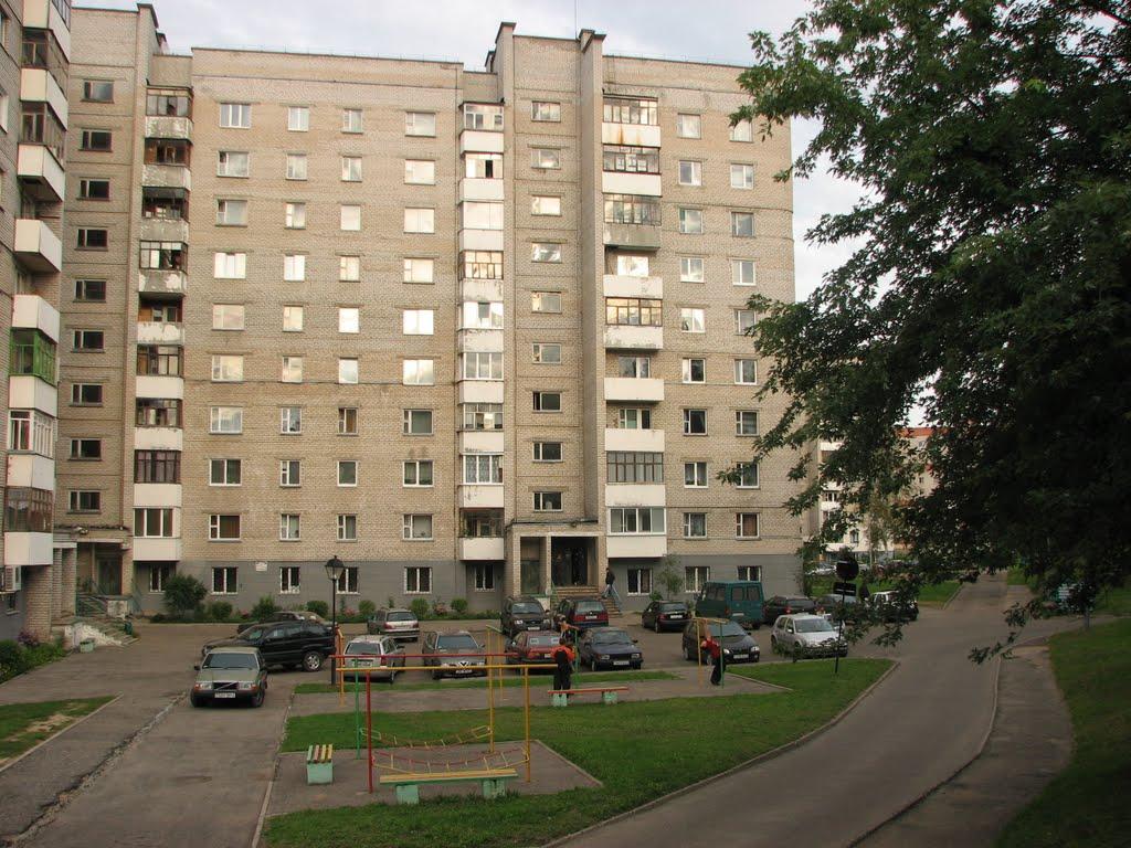 Ул Парковая 22 07.2010, Новополоцк