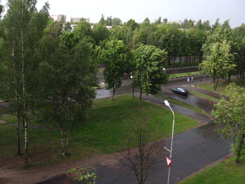 самый аварийный перекрёсток, ул. Калинина, Новополоцк