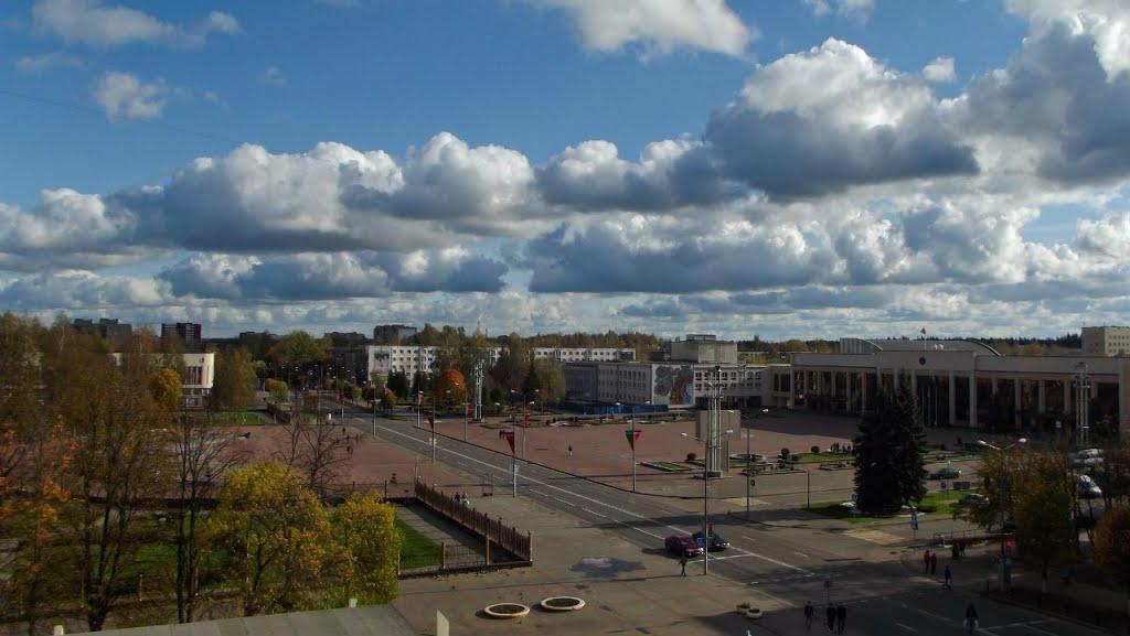 Площадь строителей, Новополоцк