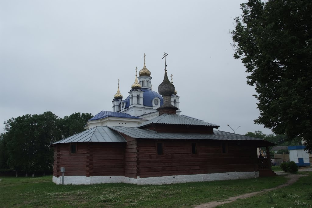 Храм в Орше, Орша