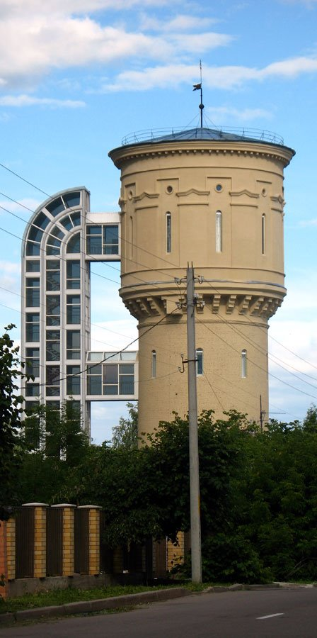 Old water tower in Polack, Полоцк