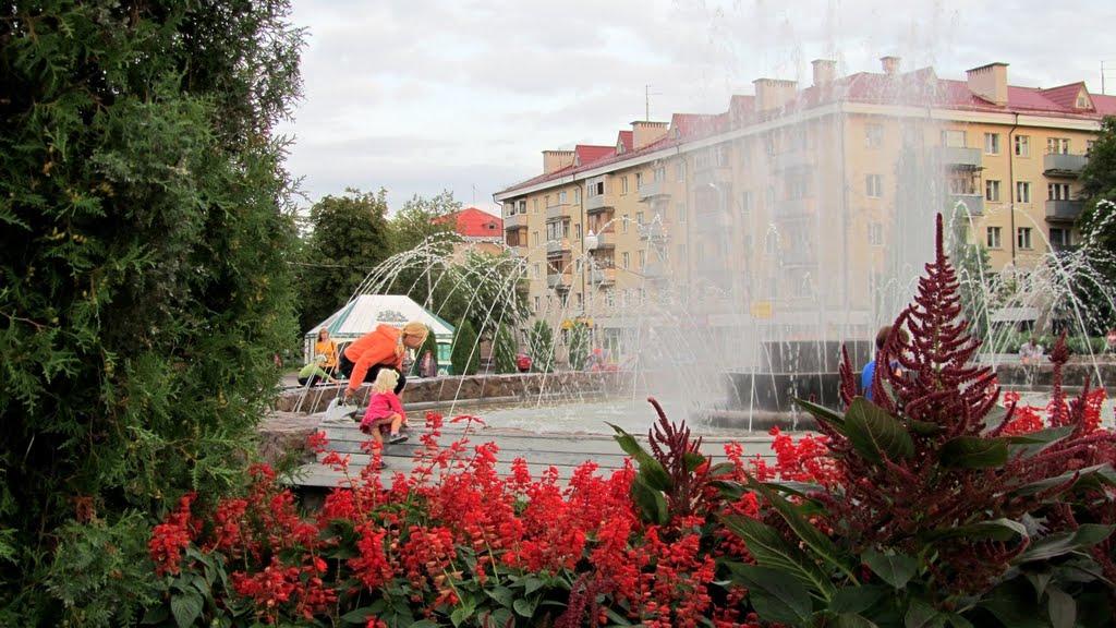 Фонтан. Полоцк - Fountain. Polack (2010), Полоцк