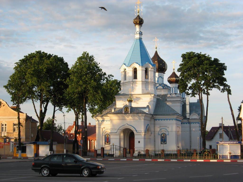 Orthodox church, Поставы