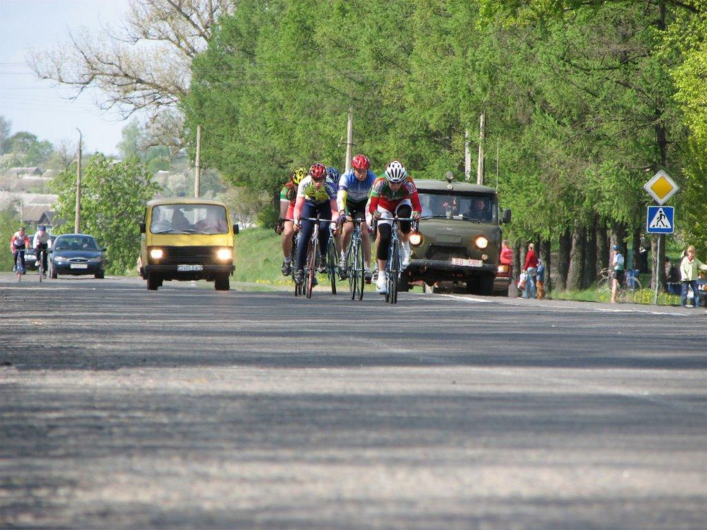 Велогонка 9 мая 2009, Толочин