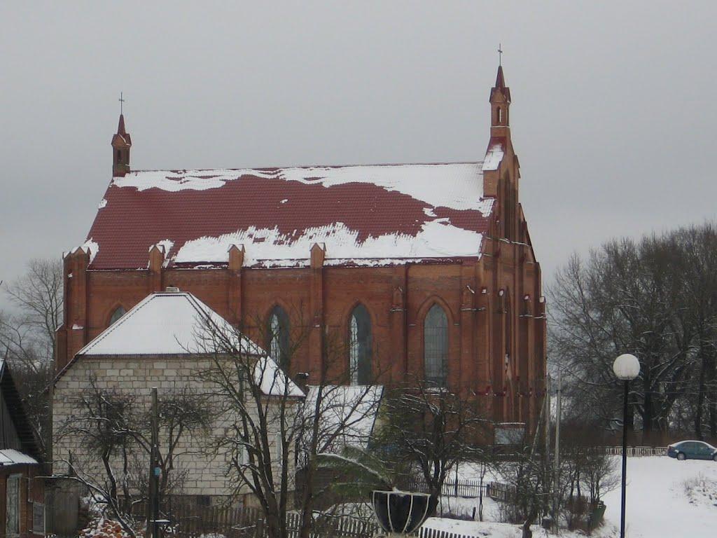 Костел св. Лаврентия, Ушачи