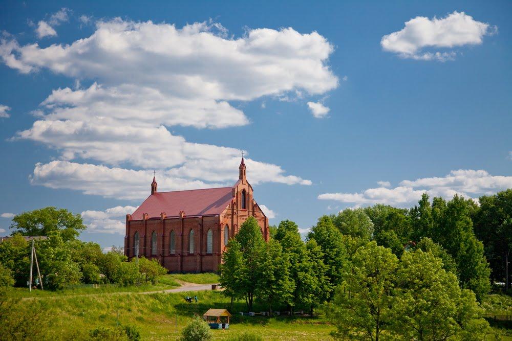 Католический костел, Ушачи
