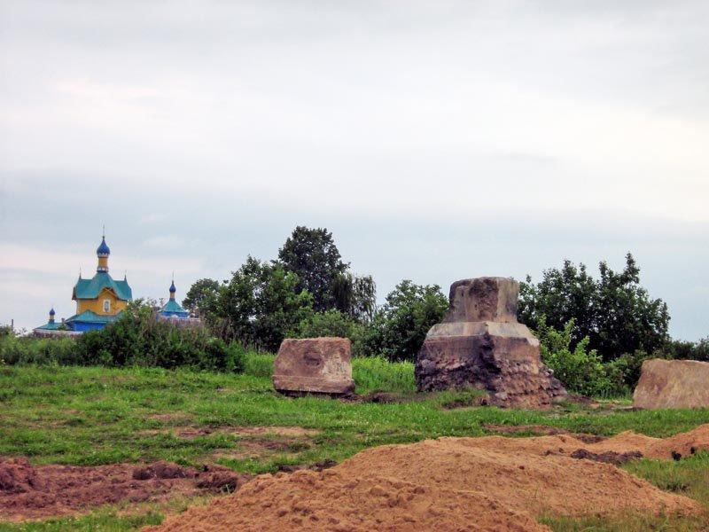 Monument restoration, Шарковщина
