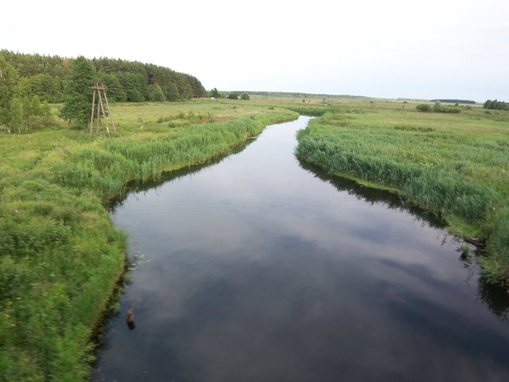 Small river, Белицк