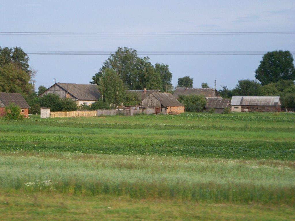 A village, Белицк
