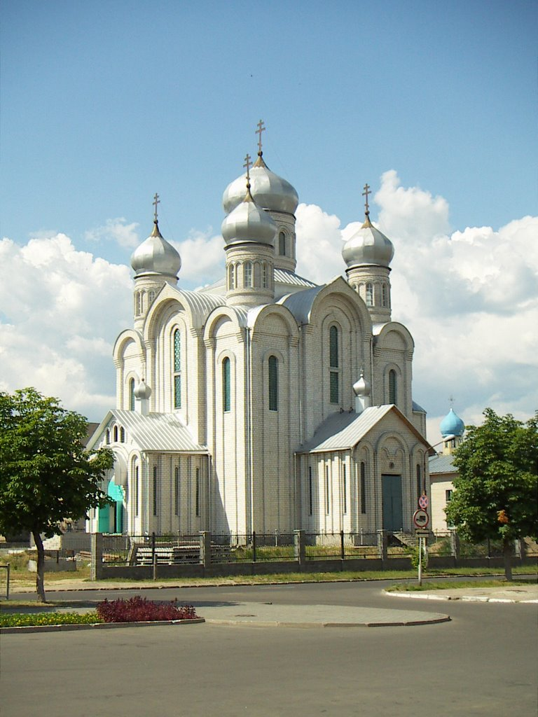 Eastern Orthodox cathedral in Svetlahorsk, Belarus, Белицк