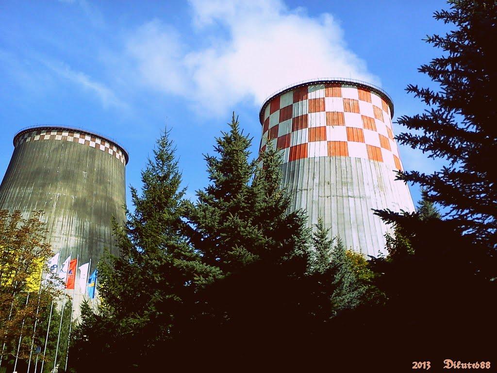Цепла-электра цэнтраль № 2 горада Гомеля ... Central heat and power plant number 2 in Gomel, Белицк