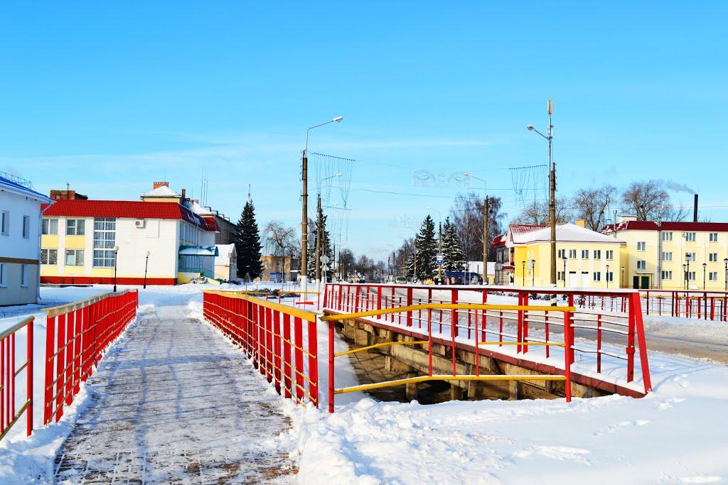 Мост в Брагине, Брагин