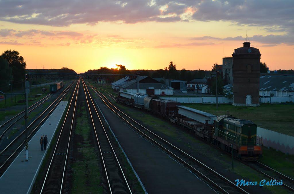 Stazione di Buda-Kasaliova (panoramica) MC2013, Буда-Кошелево