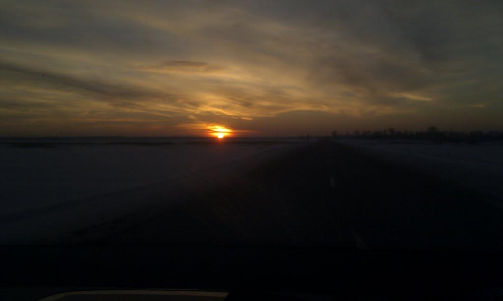 закат, Васильевка