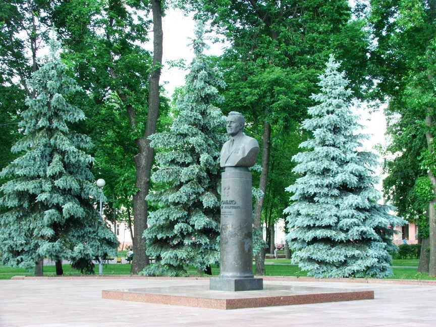 A.Gromikos Monument, Гомель