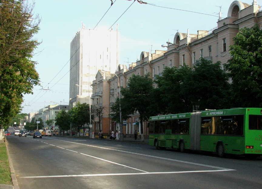 Lenins Avenue., Гомель
