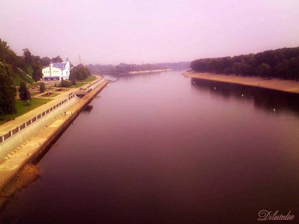 Раніца. Рака Сож ... Morning. Sozh River., Гомель