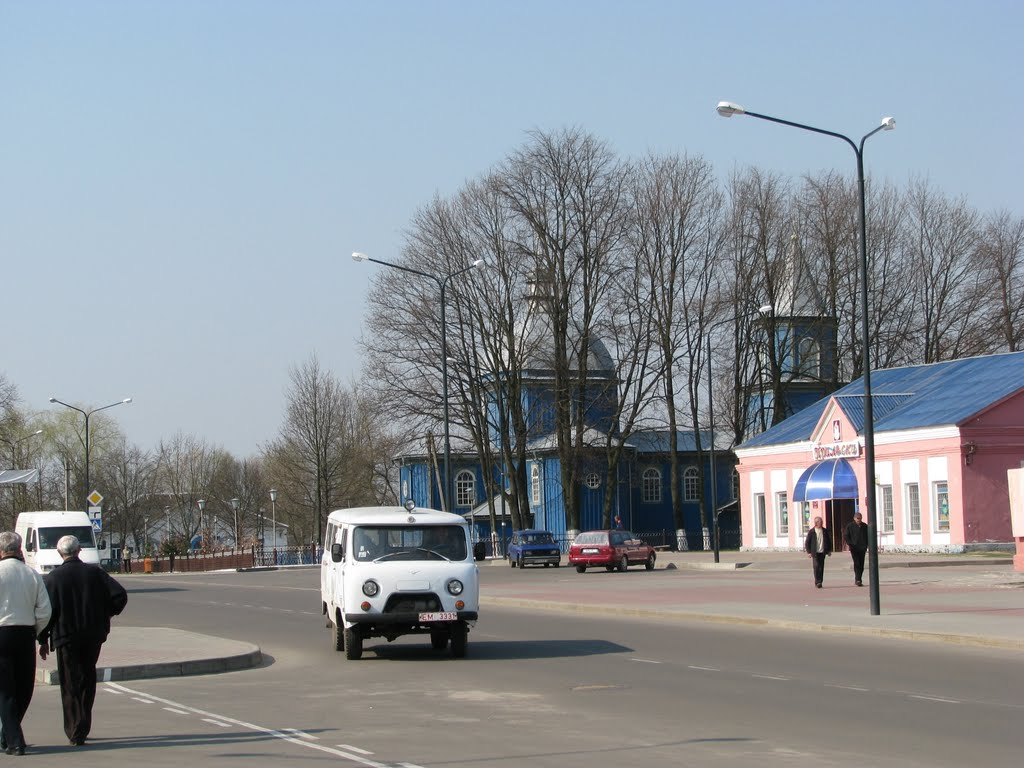 Апрель 2010г., Ельск