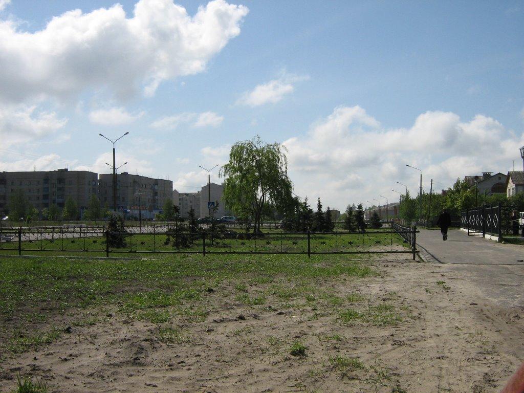 м-н Озерный, Житковичи. Estate Ozerniy, Zhytkavichy., Житковичи