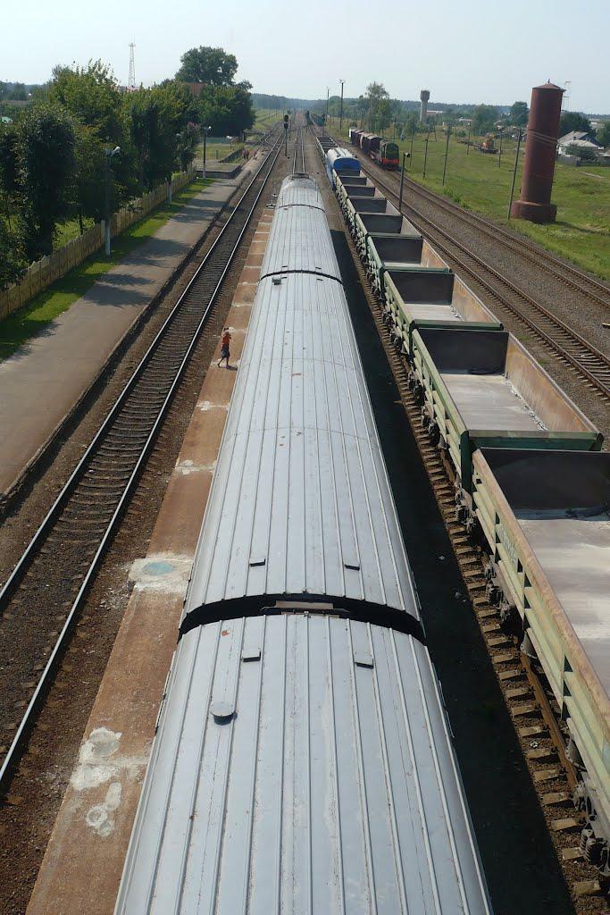 Train station / Zjitkovitsji / Belarus, Житковичи