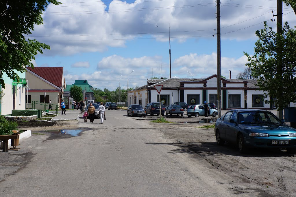Перекресток улиц Парковая и Чкалова, Житковичи