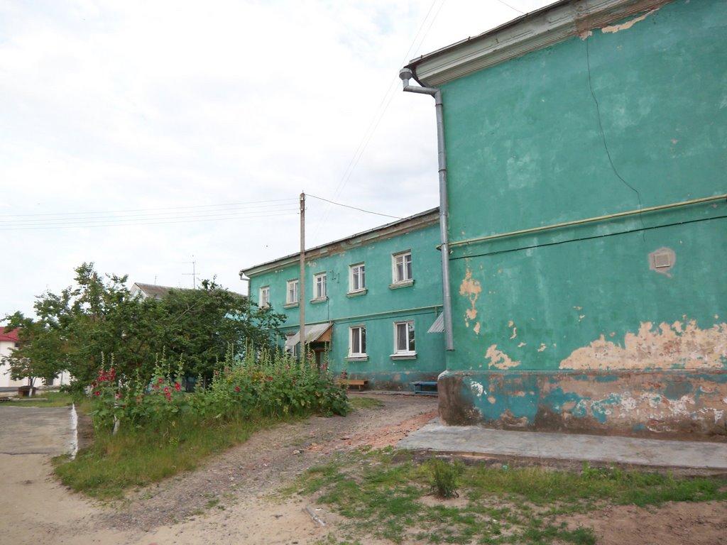 Small courtyard, Жлобин