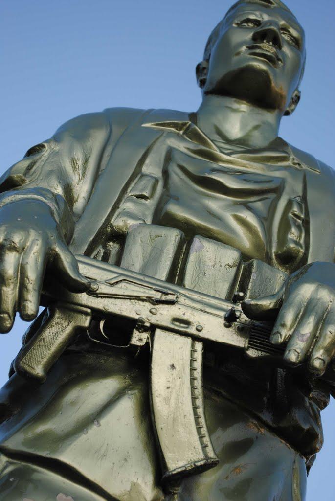 Памятник героям афганцам, Жлобин