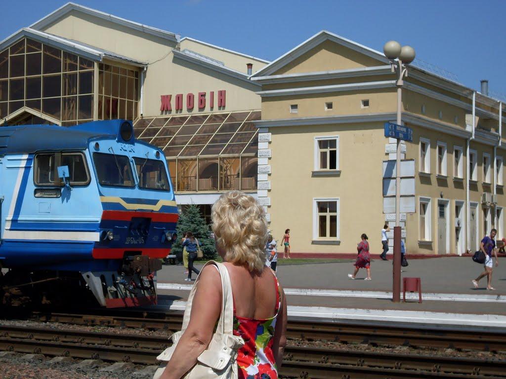 Вокзал в Жлобине, Жлобин
