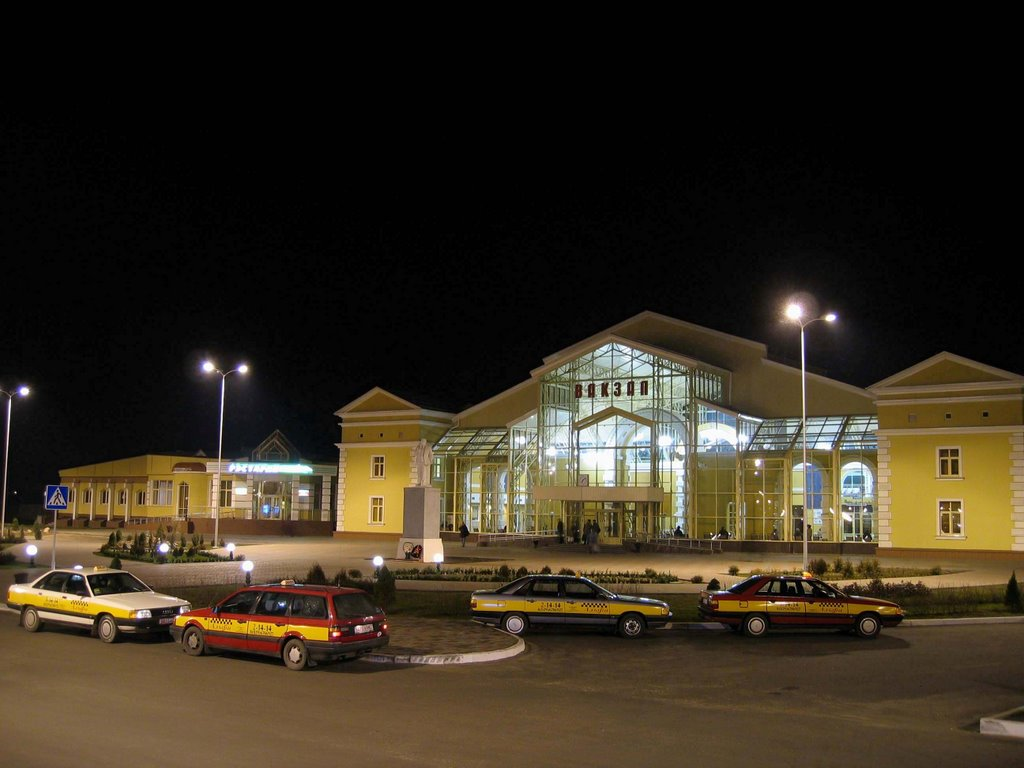 Zhlobin_railway station, Жлобин