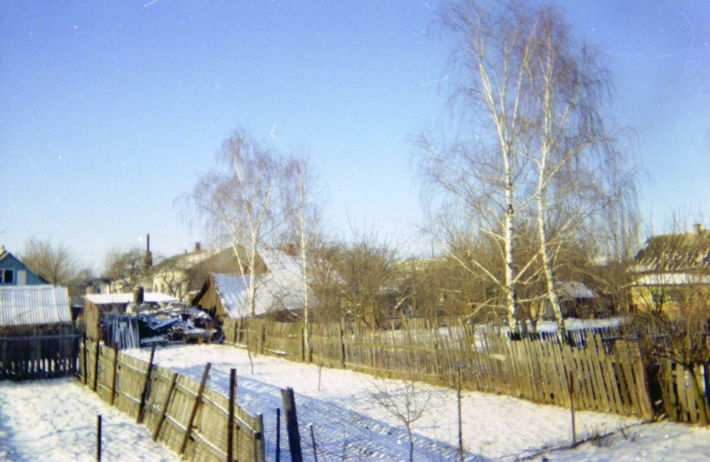 Зима в г.Калинковичи, ул Октябрьская, Калинковичи