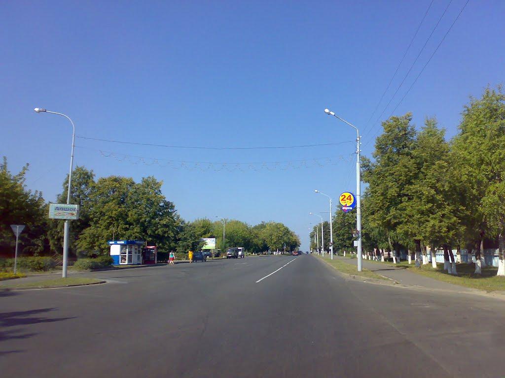 ул. 50 лет Октября, Калинковичи