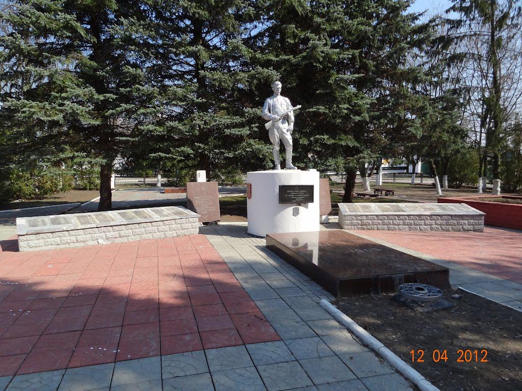 Памятник ВОВ, Корма