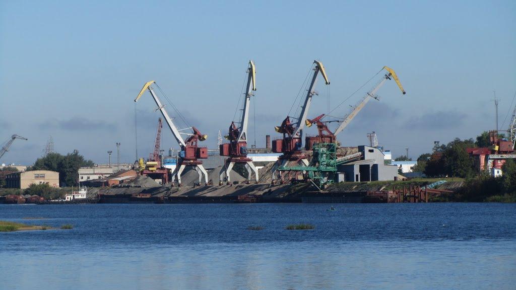 Порт Мозырь, Мозырь