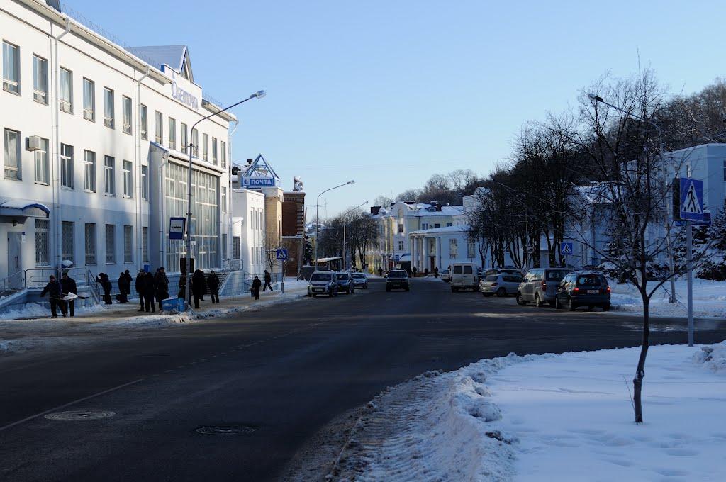 Мозырь, ул. Ленинская Mozyr, Leninskaya str., Мозырь