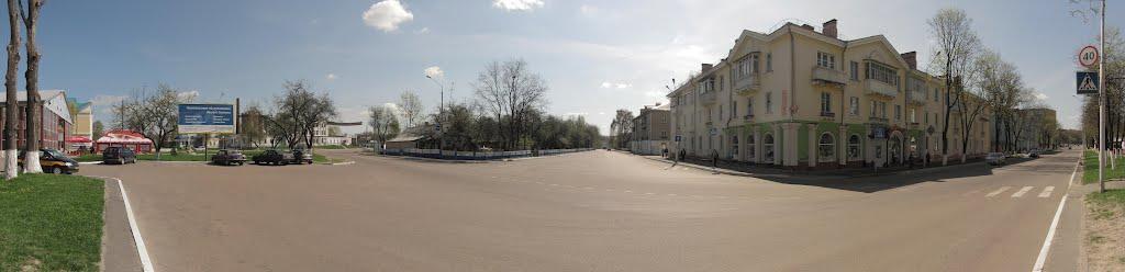 street Proletarskaya, Мозырь