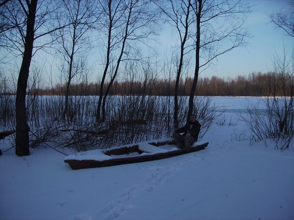 Лодка(возле Припяти), Наровля